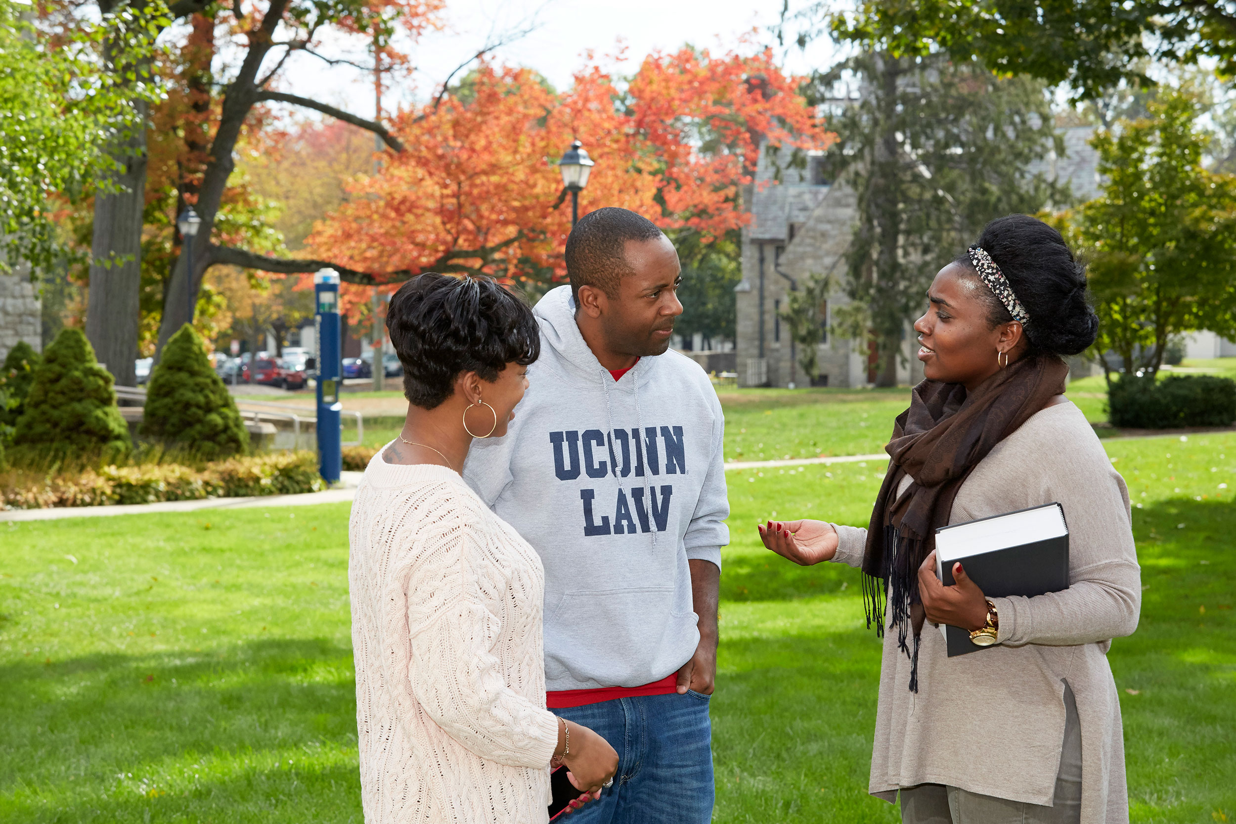 UConn Law students